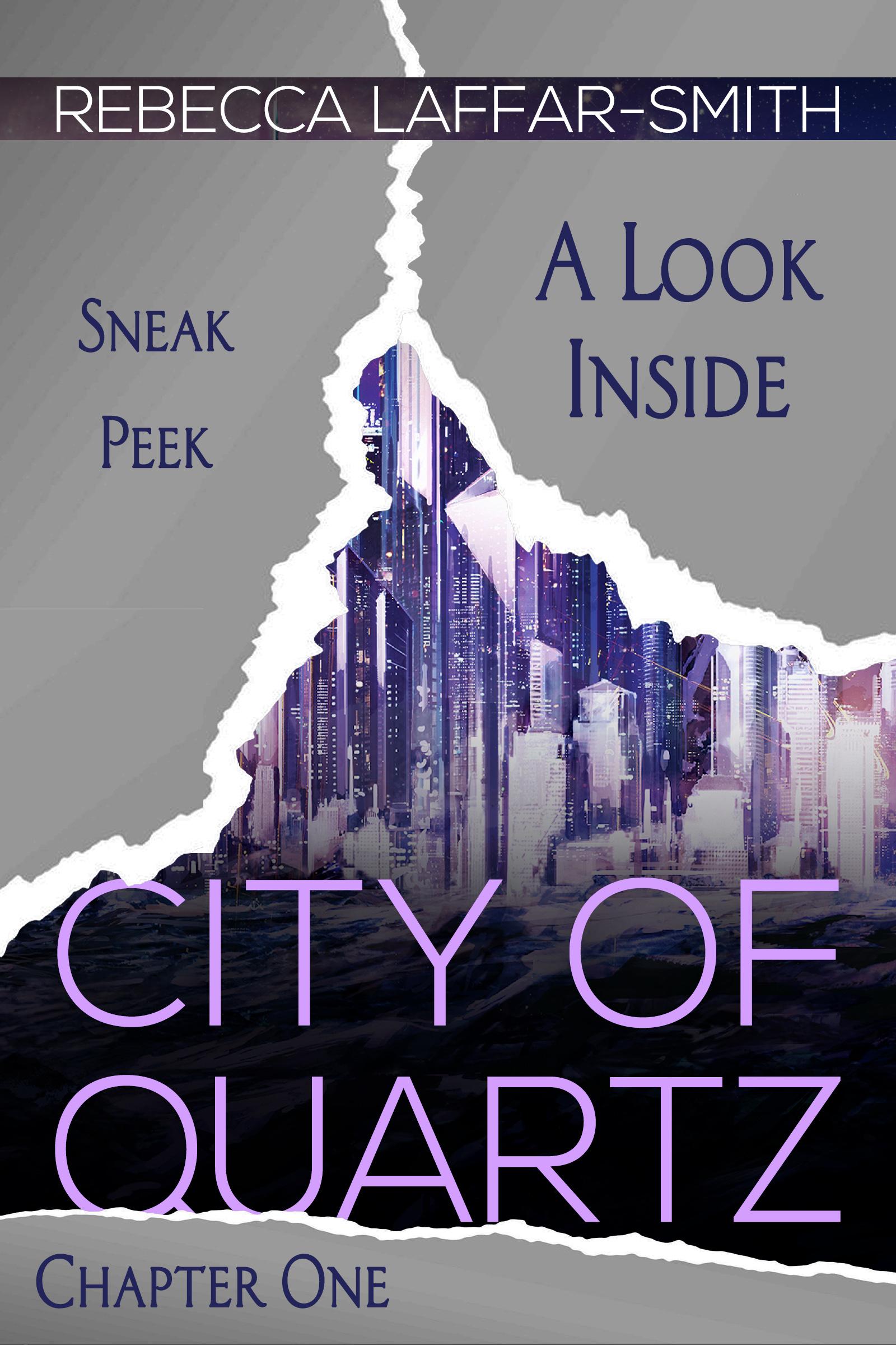 City of Quartz - Cover Reveal [Sneak Peek]